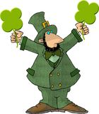 Leprechaun 10 royalty free illustration
