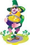 Leprechaun ilustração stock