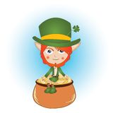 Leprechaun Immagine Stock