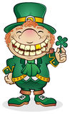 Leprechaun. Get your green beer and pots of gold and call this guy up! He is ready for a great Saint Patrick's day vector illustration