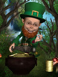 Leprechaun royalty free illustration