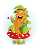 Leprechaun Stock Photo
