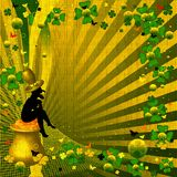 Leprechaun afortunado Fotos de Stock