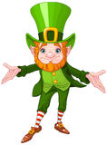 Leprechaun afortunado Fotos de Stock