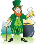 Leprechaun Ale Stock Photography