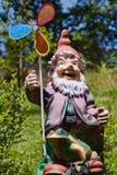 Leprechaun barbuto Fotografia Stock Libera da Diritti