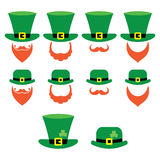 Leprechaun character for St Patrick's Day in Ireland Royalty Free Stock Image