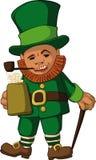 Leprechaun color Stock Photos