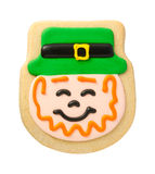 Leprechaun Cookie for St. Patricks Day Stock Photography