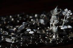Leprechaun d'acciaio Immagini Stock