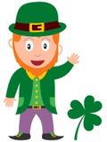 Leprechaun del día del St. Patrick Imagen de archivo libre de regalías