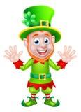 Leprechaun del día del St Patricks Fotografía de archivo libre de regalías