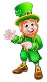 Leprechaun do dia de Patrick de Saint ilustração royalty free