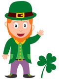 Leprechaun do dia do St. Patrick Imagem de Stock Royalty Free