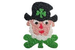 Leprechaun do dia do St. Patricks fotografia de stock royalty free