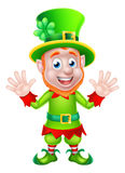 Leprechaun do dia do St Patricks Fotografia de Stock Royalty Free