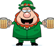 Leprechaun Drunk Stock Images