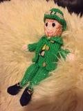 Leprechaun, dziająca zabawka Zdjęcia Stock