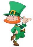 Leprechaun engraçado Imagem de Stock