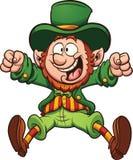 Leprechaun felice Illustrazione Vettoriale