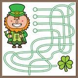 Leprechaun game. Stock Image