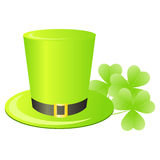 Leprechaun green hat Royalty Free Stock Photo