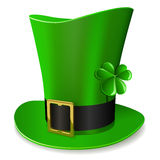 Leprechaun green hat Royalty Free Stock Image