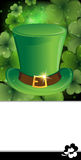 Leprechaun hat with buckle Stock Photos