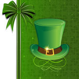 Leprechaun hat with gold buckle Royalty Free Stock Photo