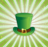 Leprechaun hat with gold buckle Royalty Free Stock Image