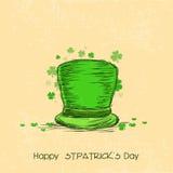 Leprechaun hat for Happy St. Patricks Day celebration. Stock Image