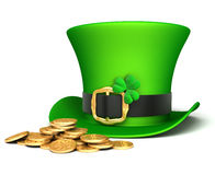 Leprechaun hat Royalty Free Stock Images