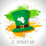 Leprechaun Hat for St. Patrick's Day celebration. Royalty Free Stock Photography