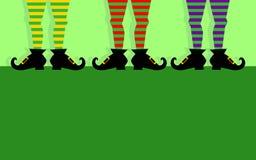 Leprechaun Iść na piechotę ilustrację fotografia royalty free
