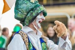 Leprechaun irlandese allegro Fotografia Stock Libera da Diritti