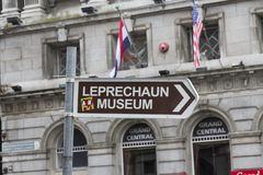 Leprechaun Museum, Dublin stock photos