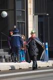 Leprechaun nella parata Ottawa, Canada di giorno del ` s di San Patrizio Immagini Stock