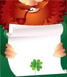 Leprechaun on Patrick's Day Royalty Free Stock Photo