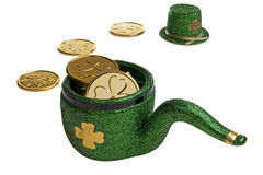 Leprechaun Pipe Royalty Free Stock Photo