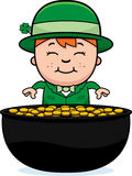 Leprechaun Pot of Gold Stock Photos