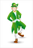 Leprechaun Profile Stock Images