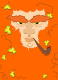 Leprechaun with red beard. St. Patricks Day character. Irish hol Royalty Free Stock Photo