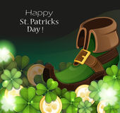 Leprechaun shoe Stock Image