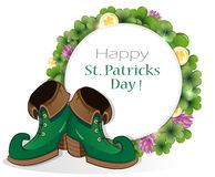 Leprechaun shoes Stock Photos