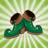 Leprechaun shoes Royalty Free Stock Photo