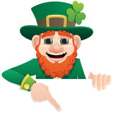 Leprechaun Sign 2 Royalty Free Stock Photos