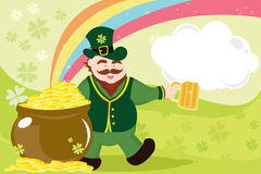Leprechaun for st patrick Royalty Free Stock Photo