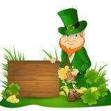 Leprechaun St. Patrick`s Day Royalty Free Stock Images