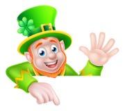 Leprechaun St Patricks Day Cartoon Royalty Free Stock Photos