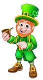 Leprechaun St Patricks Day Illustration Royalty Free Stock Images